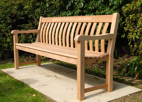Fred J Taylor bench